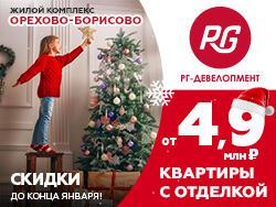 ЖК «Орехово-Борисово» Отделка на выбор